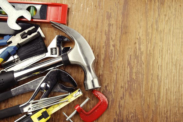 tools to repair overhead garage door